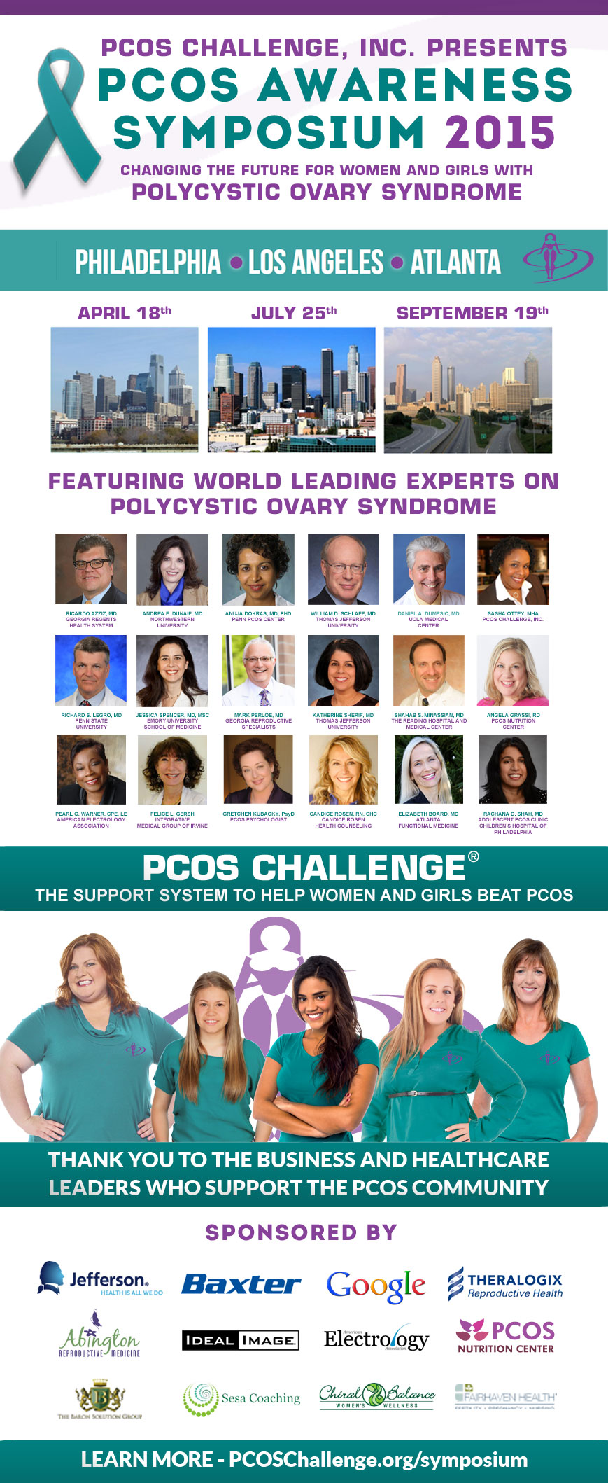 2015 PCOS Awareness Symposium - Presented by PCOS Challenge, Inc